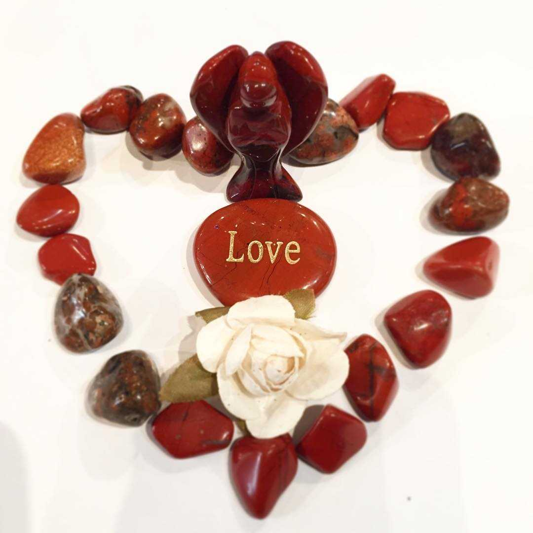 Red Jasper valentine gifts idea Boutique shop Miami