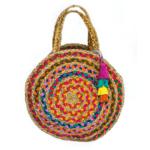 Handbag Round Pompom