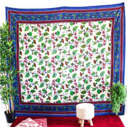 Leaf Pattern Tapestry