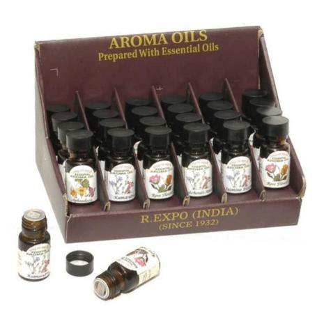 Aroma Oils prepared with Essential Oils