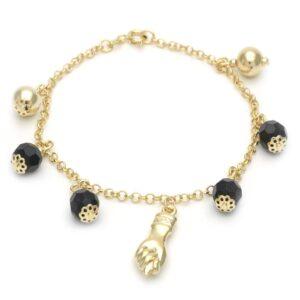 Gold Bracelet symbolizing strength and protection
